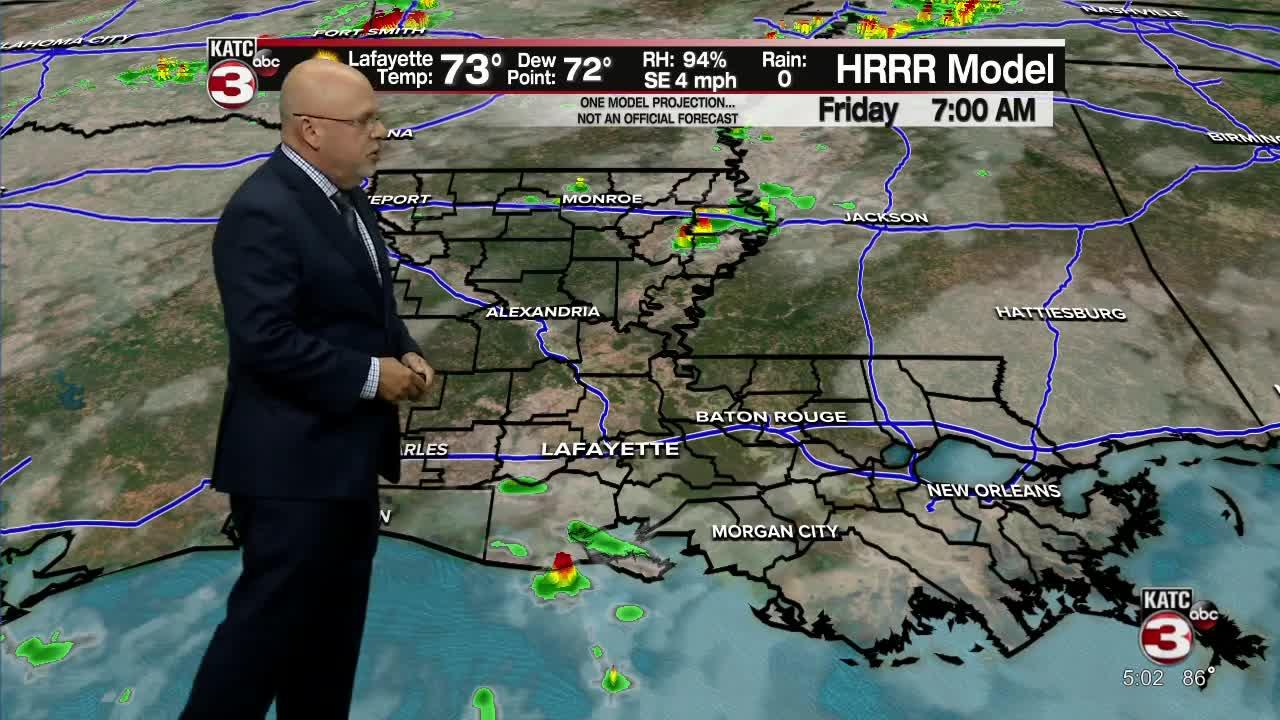 ROB'S WEATHER FORECAST PART 1 5PM 10-14-2021