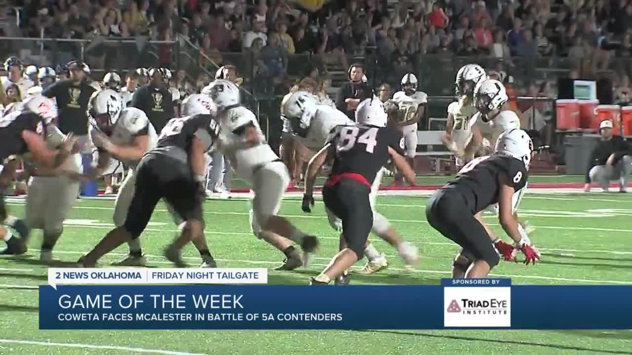 Friday Night Tailgate: Keys to undefeated matchup between Coweta, McAlester