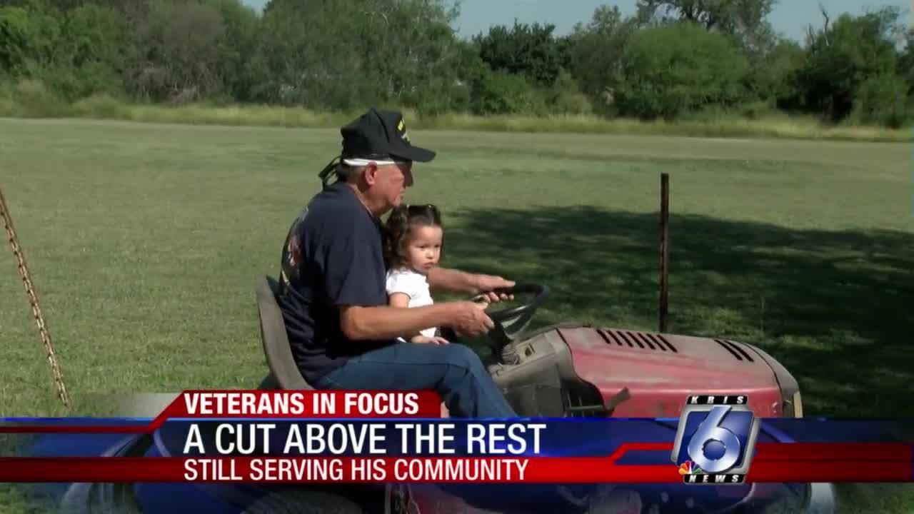 Navy veteran spending retirement serving neighbors