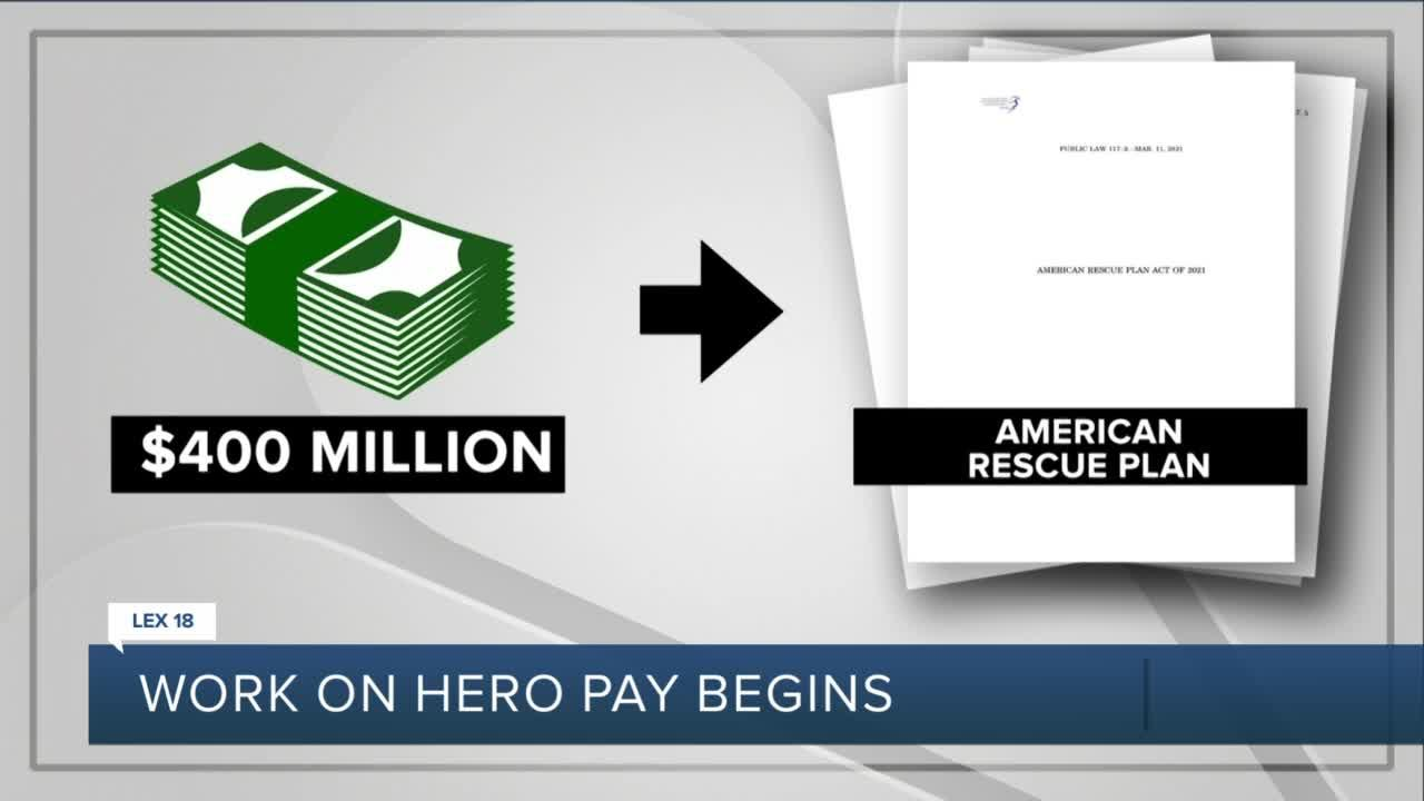 The work on hero pay begins