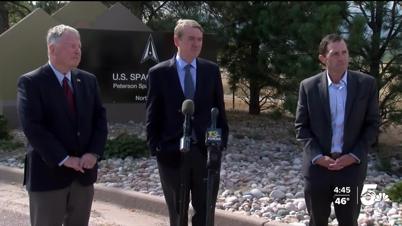 Congressional Delegation tours military bases in Southern Colorado