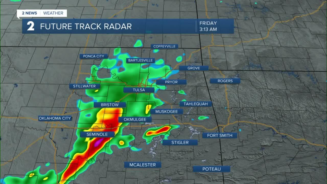 More storms overnight