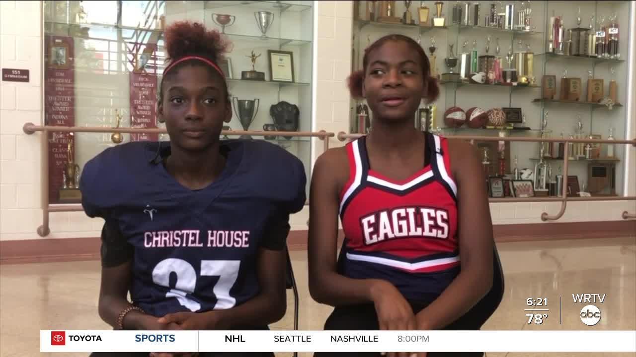 'Sister Sister' at Christel House High School