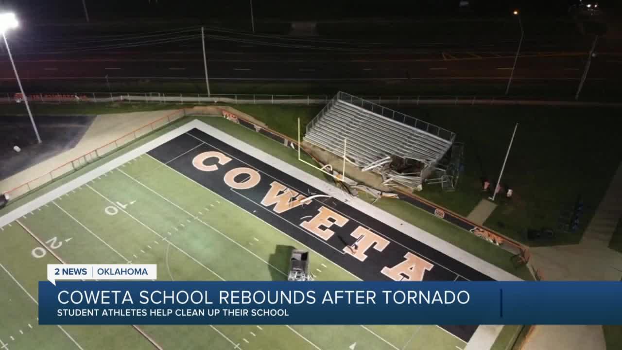 Coweta High School rebounds after tornado