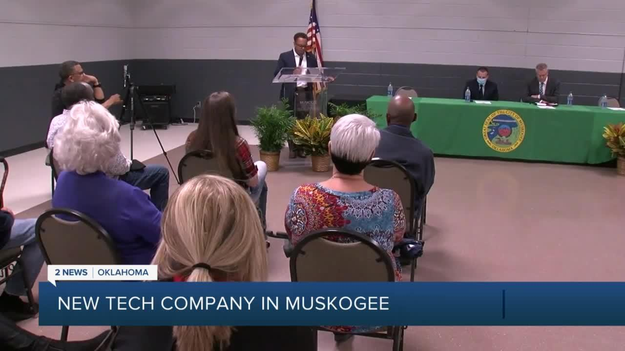 New tech company coming to Muskogee