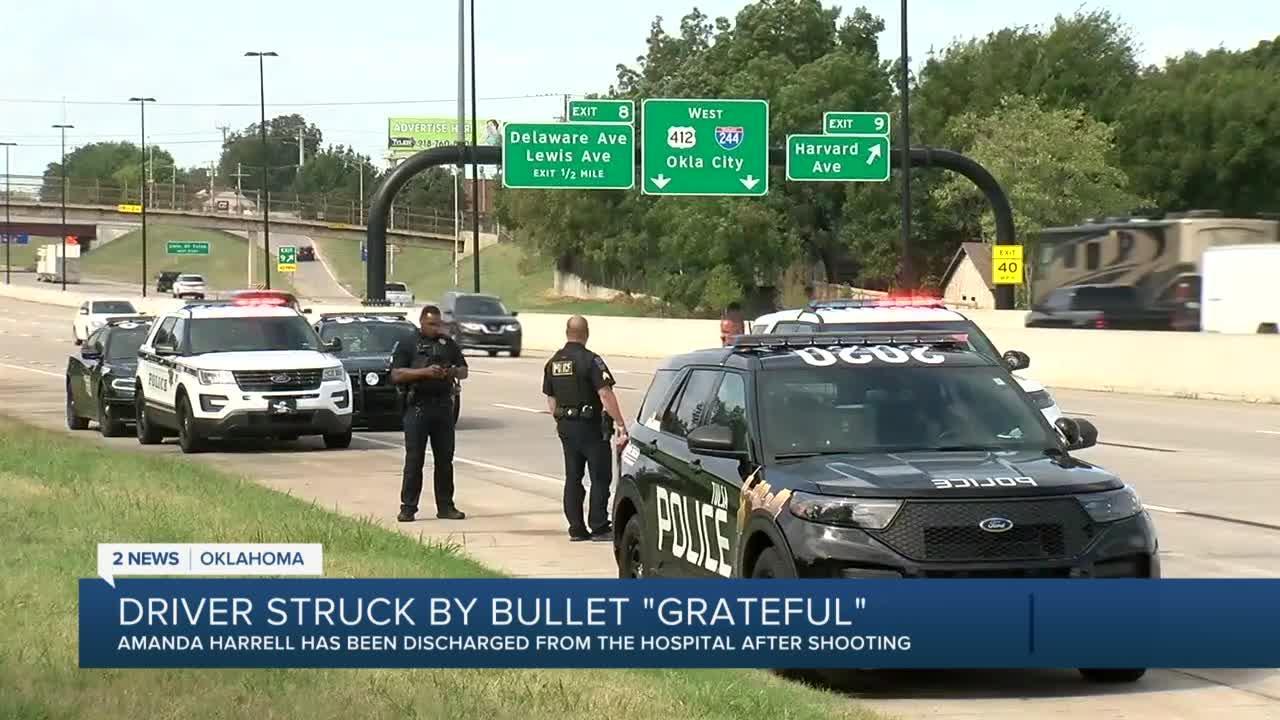 Investigating I-244 shooting in Tulsa
