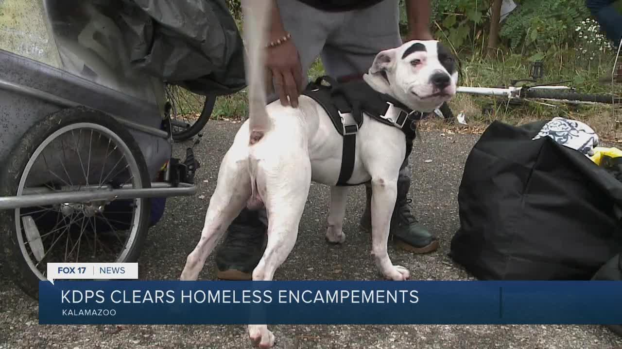 'It's more than just man's best friend:' Animal advocate checks on pets, owners after homeless encampment
