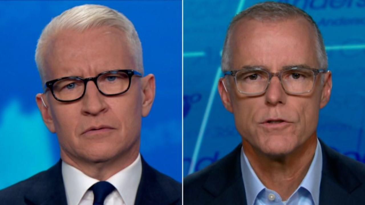 Andrew McCabe on Trump: I don't care what that guy has to say